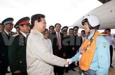 Le PM Nguyen Tan Dung en tournée de travail à Binh Dinh