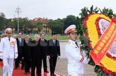 Hommage posthume au Président Ho Chi Minh
