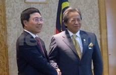 Le chef de la diplomatie vietnamienne en Malaisie