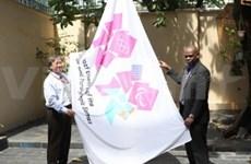 JO 2012 : le drapeau du pays hôte hissé à HCM-Ville