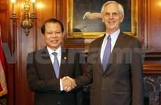 Le vice-Premier ministre Vu Van Ninh aux Etats-Unis