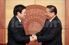 La visite officielle qui resserre les liens Vietnam-Laos