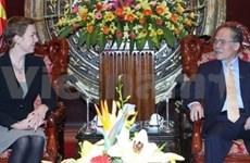 Vietnam et Lituanie veulent renforcer les liens