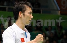 Tiên Minh toujours 9e au classement BWF