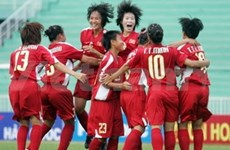 Football: éliminatoires du Championnat d'Asie féminin U19 au Vietnam