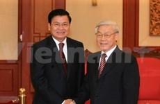 Les dirigeants louent les liens fraternels Vietnam-Laos