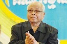 Félicitations au nouveau président du Sénat cambodgien