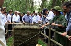 Le président chilien clôt sa visite au Vietnam au Sud