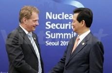 Séoul : autres rencontres entre le PM et des dirigeants étrangers