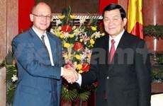 Truong Tan Sang reçoit le directeur général du groupe Rosatom