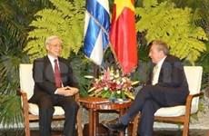 La visite à Cuba du leader du PCV approfondit les relations bilatérales