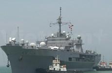 Trois navires de la Marine américaine à Da Nang
