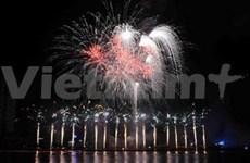 L'Italie gagne le concours de feux d'artifice de Dà Nang