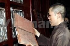 L'UNESCO sacre les tablettes de bois de la pagode Vinh Nghiêm