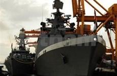 Deux navires de la Marine indienne à Hai Phong