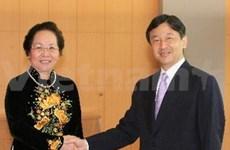 Nguyen Thi Doan rencontre le prince héritier du Japon