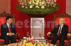Le chef du PCV réaffirme les liens stratégiques avec la Chine