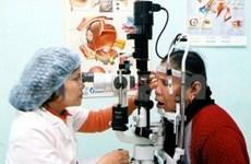 L'OMS finance des opérations ophtalmologiques