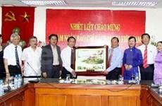 Journée de la presse révolutionnaire vietnamienne: l'AVI est félicitée