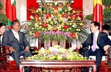 Le Vietnam et le Myanmar veulent des liens accrus