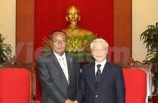 Le Vietnam souhaite resserrer son amitié avec le Myanmar