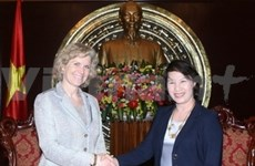 Une délégation de députés vietnamiens aux Etats-Unis