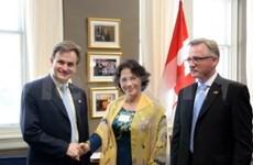 La vice-présidente de l'Assemblée nationale au Canada