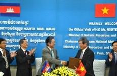 Le Vietnam et le Cambodge coopèrent sur le Mékong
