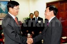 Bâtir une frontière de paix et d'amitié Vietnam-Laos