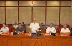 Hô Chi Minh-Ville: le Bureau politique montre la voie