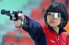 JO 2012 : la tireuse Hoàng Ngoc, le feu sous la grâce