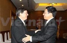 Le ministre vietnamien des AE reçoit son hommologue cubain