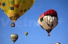 Des montgolfières dans le ciel de Binh Thuan