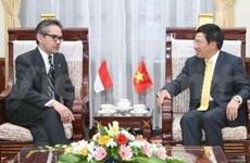 VN-Indonésie : coopération pour le rôle de l'ASEAN