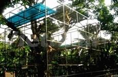Nouveau refuge de la vie sauvage du delta du Mékong