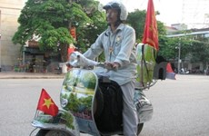 Quang Dat, artiste et routard de l'humanitaire