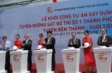 HCM-Ville : lancement du chantier de la première ligne de métro