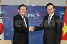 Activités du président Truong Tan Sang à l'APEC 20