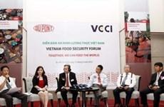 La sécurité alimentaire au cœur d'un forum au Sud