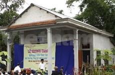 Dioxine : l'AVI offre une maison à une victime à Quang Tri