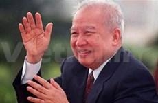 Décès de Norodom Sihanouk: condoléances au Cambodge