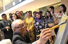 Exposition de peinture contemporaine vietnamienne en Malaisie