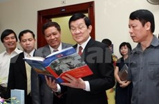 Vietnam-Laos: publication des ouvrages sur les relations particulières