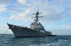 Manœuvres maritimes conjointes Etats-Unis-Cambodge