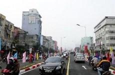 Mise en service de l'autopont entre les boulevards Le Van Luong et Lang Ha