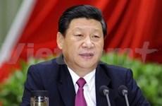 Félicitations au nouveau secrétaire général du PCC