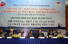 Clôture du 4e colloque international sur la Mer Orientale