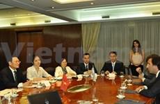 Élan pour la coopération financière Vietnam-Argentine