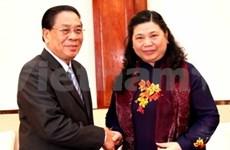 Le Laos inaugure le site commémoratif du Président Ho Chi Minh