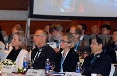 Ouverture de la conférence du Groupe consultatif des bailleurs de fonds